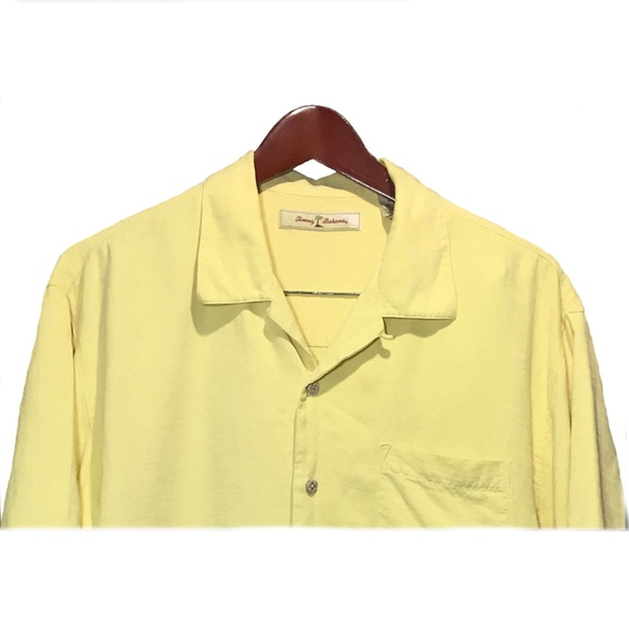 Tommy Bahama Other - Tommy Bahama Yellow Hawaiian Shirt Size M
